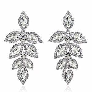 Dangle leave earrings